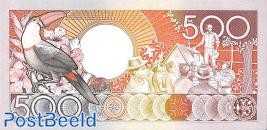 500 gulden 9.1.1988