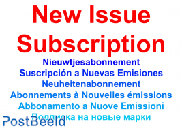New issue subscription Kiribati