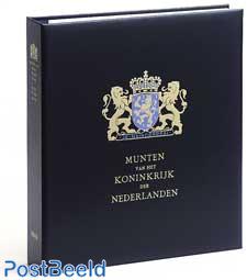Luxe coin album Kon. Willem Alexander (b / w)