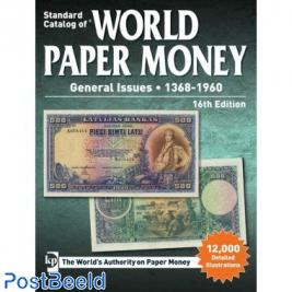 Krause World Paper Money 1368-1960, 16th edition