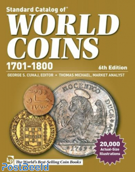 Krause World Coins 1701-1800, 6th edition