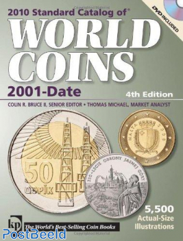 Krause World Coins 2001-Date, 4th edition CD Included