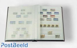 Leuchtturm Basic Stockbook 16 White Pages (A5) Blue