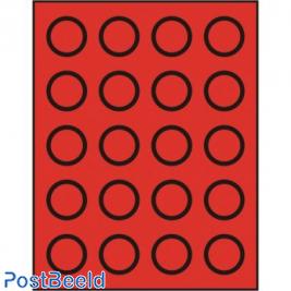 Caja de monedas para 20 monedas hasta 38mm