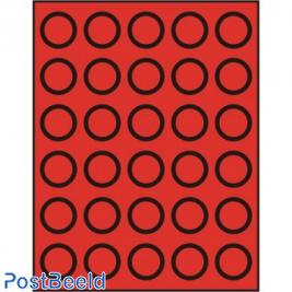 Caja de monedas para 30 monedas hasta 34mm