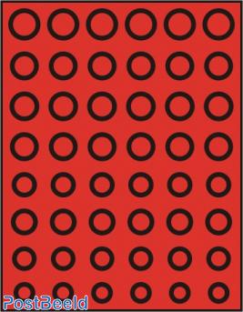 Caja de monedas para Euros (6 series de 8 mon.)