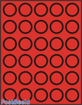 Caja de monedas para 30 monedas hasta 36mm