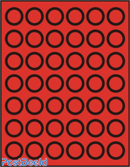 Caja de monedas para 42 monedas hasta 29mm