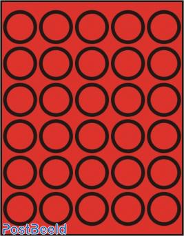 Caja de monedas para 30 monedas hasta 39mm