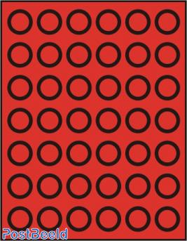 Caja de monedas para 42 monedas hasta 27.5mm