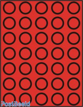 Caja de monedas para 35 monedas hasta 32.5mm