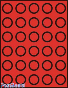 Caja de monedas para 30 monedas hasta 33mm