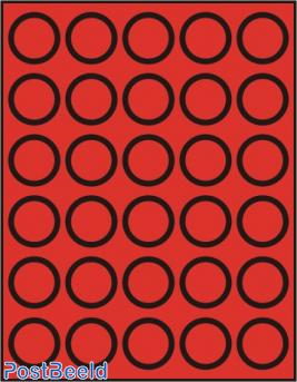 Caja de monedas para 30 monedas hasta 37mm