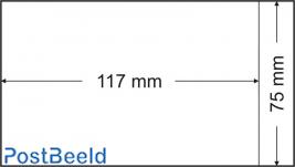 500 glassine bags 75x117mm