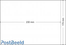 500 bolsas de pergamino 170x230mm