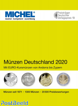 Michel Coins Catalogue Germany 2020