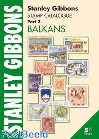 Stanley Gibbons Europa Volumen 3: Balcanes