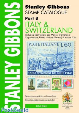 Stanley Gibbons Europa Volumen 8: Italia y Suiza