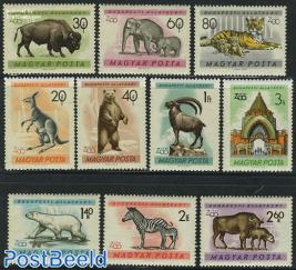 Budapest Zoo 10v