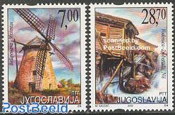Wind & watermill 2v