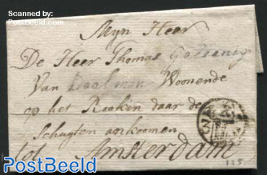 Letter from Rotterdam to Amsterdam