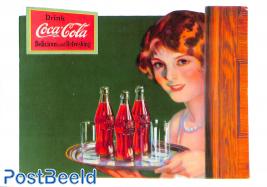 Coca Cola cutout, 1927
