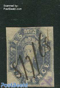 6p, Bluepurple, used