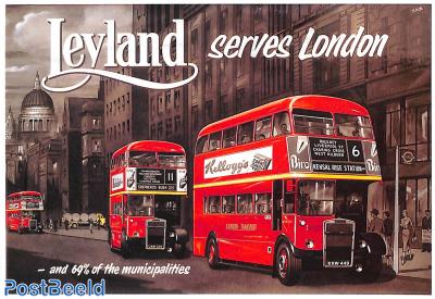 Leyland serves London
