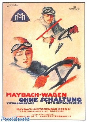 Maybach Wagen ohne schaltung