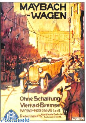 Maybach, Ohne Schaltung, Vierrad Bremse