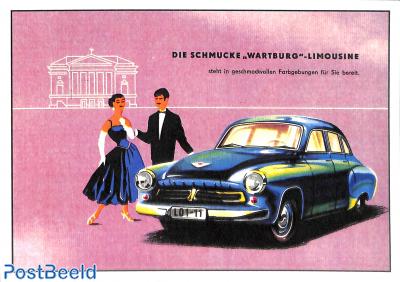 Die Schmucke Wartburg Limousine