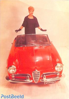 Giulietta Spider, 1955