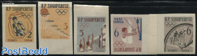 Olympic Games 5v imperforated