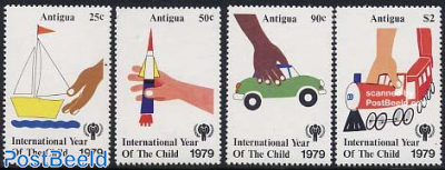 Int. year of the child 4v
