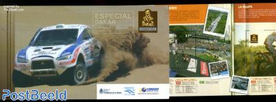 Dakar rallye booklet