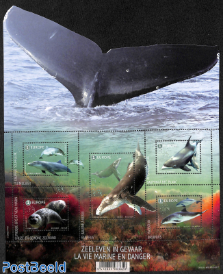 Endangered Sea Mammals 5v m/s