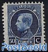 Stamp exposition Brussels 1v