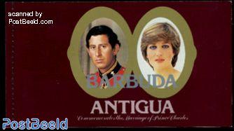 Royal wedding booklet