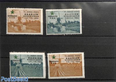 Collection of Esperanto seals, Haarlem 4v