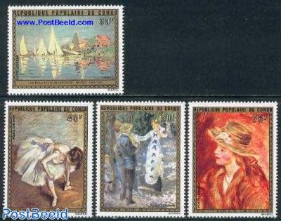 Impressionism, paintings 4v
