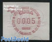 Automat Stamp, UPU Congress 1v (face value may vary)
