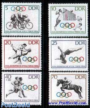 Olympic games Tokyo 6v