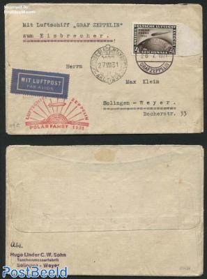 Polarfahrt 1931, Graf Zeppelin