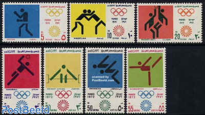 Olympic games Munich 7v
