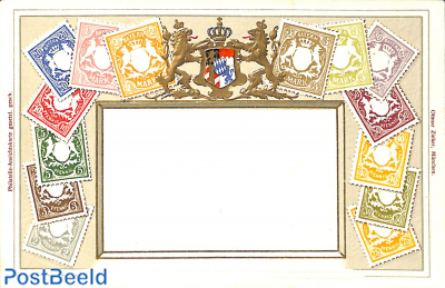Stamps from Bayern