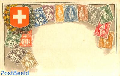 Stamps of Switzerland