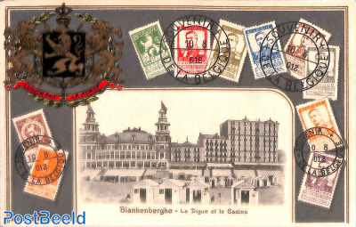 Blankenberghe, Stamps, coat of arms