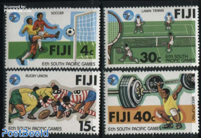 South pacific games 4v