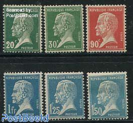 Louis Pasteur 6v