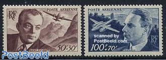 Airmail pioneers 2v